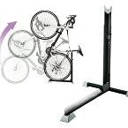 【B106】自転車スタンド 1台用 ベランダ設置 室内置きにも! L字型 縦置きスタンド 自転車の保管・ディスプレイに!コンパクト簡単設置 便利でオシャレ自転車の収納 省スペース保菅 組み立て簡単 自転車ラック