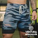 ハーフパンツ VENTURA 529 トレーニングウェア メンズ レディース 半袖 カモフラージュ ウェア トップス カジュアル ストリート トレーニング 大きいサイズ ロゴ シンプル 半袖 スポーツ アウトドア アスレジャー