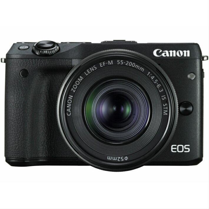 【ミラーレスデジカメ レンタル】ミラーレスデジタルカメラ キャノン EOS M3 ダブルズームキット レンタル4-5日間プラン フォトブックプレゼント付き