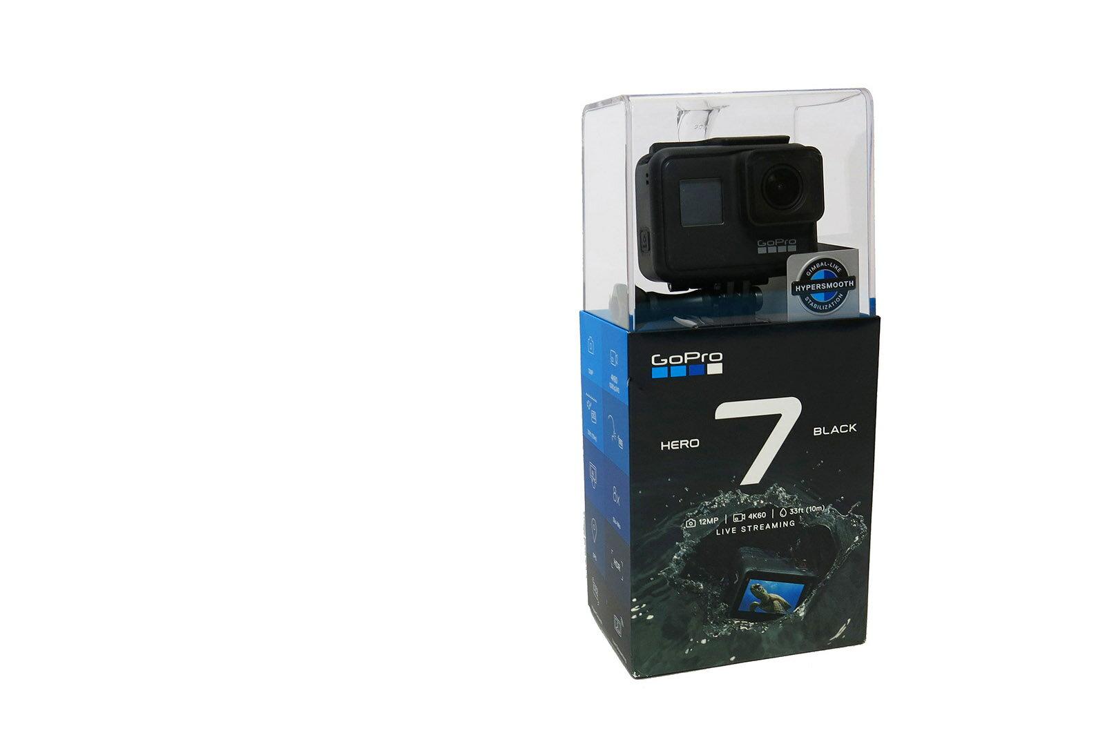 【GOPROレンタル】GoPro HERO7 Black レンタル SDカードプレゼント  マウントセット (カメラアーム)
