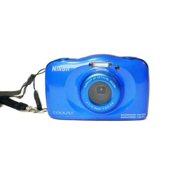【防水カメラレンタル】ニコンCOOLPIX S33 防水カメラレンタル SDカードプレゼント