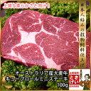 柔らか安心豪州産大麦牛赤身のキューブロールミニステーキ100gYDKG-kd 牛肉ステーキ肉 牛