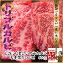 【ギフト対応】3種類のカルビが楽しめる土佐和牛トリプルカルビ焼肉セット600g バーベキューセ...
