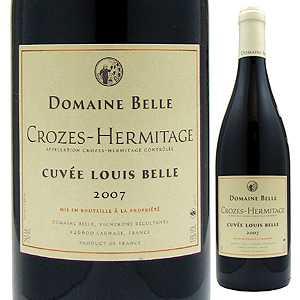 【6本〜送料無料】クローズ エルミタージュ キュヴェ ルイ ベル 2013 ドメーヌ ベル 750ml [赤]Crozes Hermitage Cuvee Louis Belle Domaine Belle