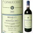 【6本〜送料無料】ブルネッロ ディ モンタルチーノ 2008 カナリッキオ 750ml [赤]Brunello di Montalcino Canalicchio Di Sopra [ブルネロ]