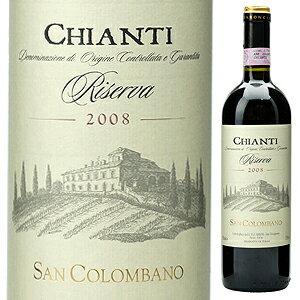 【6本〜送料無料】キャンティ リゼルヴァ 2009 サン コロンバーノ (バロンチーニ)Chianti Riserva 2009 San Colombano(Baroncini)[イタリアワイン]【RCP】
