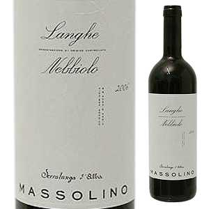 ワイン, 赤ワイン 6 2015 750ml Langhe Nebbiolo Massolino