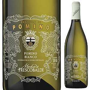 【6本〜送料無料】ポミーノ ビアンコ 2016 カステッロ ディ ポミーノ (フレスコバルディ) 750ml [白]Pomino Bianco Castello Di Pomino (Frescobaldi)
