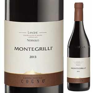 ワイン, 赤ワイン 6 2018 750ml Langhe Nebbiolo Montegrilli Elvio Cogno