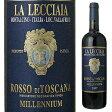 【6本〜送料無料】[3月3日以降発送予定]ロッソ ディ トスカーナ ミレニウム 2008 ファットリア ラ レッチャイア 750ml [赤]Rosso di Toscana Millennium Fattoria la Lecciaia