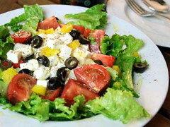 ギリシャ風サラダに挑戦!フェタチーズ