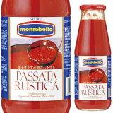 粗ごしトマトソース パッサータ ルスティカ 700g モンテベッロ