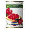 有機ダイスカットトマト缶 400g モンテベッロ (スピガドーロ)