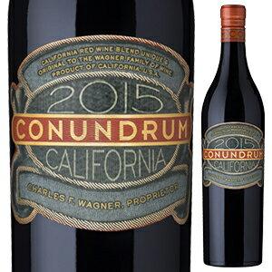 【6本〜送料無料】コナンドラム レッド 2017 ワグナー ファミリー オブ ワイン 750ml [赤]Conundrum Red Wagner Family of Wine