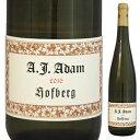 【6本〜送料無料】ホーフベルク トロッケン 2011 アダム 750ml [白]Hofberg Trocken A.J. Adam [自然派]