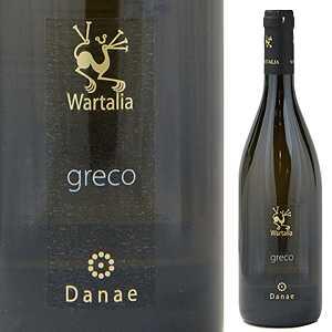 ワイン, 白ワイン 6 2017 750ml Danae Greco Beneventano Wartalia Srl
