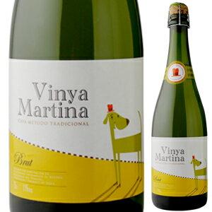 ワイン, スパークリングワイン・シャンパン 6 NV 750ml Cava Brut Vinya Martina