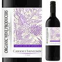 【6本〜送料無料】[6月25日(金)以降発送予定]オーガニック ワイン プロデューサーズ カベルネ ソーヴィニヨン 2020 ポルティア ヴァレー 750ml [赤]Organic Wine Producers Cabernet Sauvignon Portia Valley [スクリューキャップ]