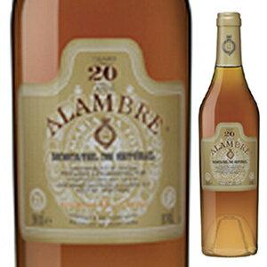 【6本〜送料無料】[10月30日(金)以降発送予定]アランブル モスカテル デ セトゥーバル 20年 NV ジョゼ マリア ダ フォンセカ 500ml [甘口酒精強化]Alambre Moscatel De Setubal 20 Years Jose Maria Da Fonseca
