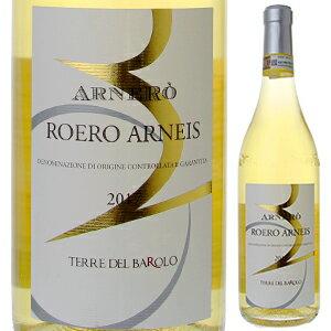 【6本〜送料無料】ロエロ アルネイス アルネロ 2018 テッレ デル バローロ 750ml  [白]Roero Arneis Arnero Terre Del Barolo