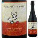 【6本〜送料無料】カンガルーラベル スパークリング レッド(シラーズ) NV ドリームタイム パス 750ml [発泡赤]Dreamtime Pass Kangaroo Label Sparkling Red(Shiraz) Dreamtime Pass