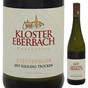 ワイン, 白ワイン 6 2017 750ml Steinberger Riesling Qba. Trocken Kloster Eberbach