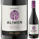 【6本〜送料無料】アリウェン レセルバ ピノ ノワール 2018 ウンドラーガ 750ml [赤]Aliwen Reserva Pinot Noir Undurraga