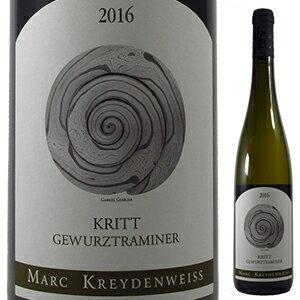 MARCKREYDENWEISS(マルク・クライデンヴァイス)『クリットゲヴェルツトラミネール2016』