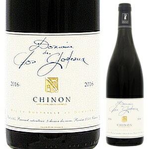 ワイン, 赤ワイン 6 2018 750ml Chinon Rouge Domaine Des Clos Godeaux