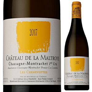 ワイン, 白ワイン 6 2019 750ml Chassagne-Montrachet 1er Cru Les Chenevottes Blanc Chateau De La Maltroye