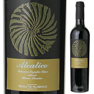 ワイン, 赤ワイン 6 2013 500ml Aleatico Tenute Rubino