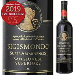 ワイン, 赤ワイン 6 2017 750ml Sigismond Sangiovese Di Romagna Riserva Le Rocche Malatestiane 2019