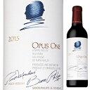 【送料無料】 [375ml]オーパス ワン 2015 オーパス ワン ワイナリー 375ml [赤] [ハーフボトル]Opus One Opus One Winery