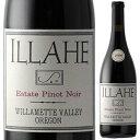 【6本〜送料無料】エステート ピノ ノワール 2018 イルヒー ヴィンヤーズ 750ml [赤]Estate Pinot Noir Illahe Vineyards [自然派]