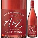 【6本〜送料無料】[10月22日(金)以降発送予定]ロゼ 2018 エイ トゥー ゼット ワインワークス 750ml [ロゼ]Rose A To Z Wineworks