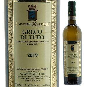 ワイン, 白ワイン 6 2019 750ml Greco di Tufo Salvatore Molettieri