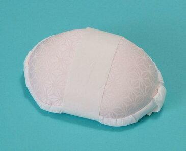 加藤萬の着付け小物 帯枕(はまぐり型)ピンク 着付け 変わり結び 振袖 着物 袋帯 和装小物 まくら ねこ メール便不可