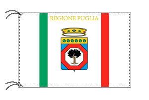 イタリア・州旗 プッリャ州(90×105cm・高級テトロン製・日本製)