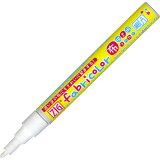 布用カラーマーカー 布用ペン 色:白 Fabricolor不透明タイプ(水性顔料インク)呉竹