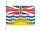 カナダ 州旗 ブリティッシュコロンビア州の旗 卓上旗 16×24cm 受注生産