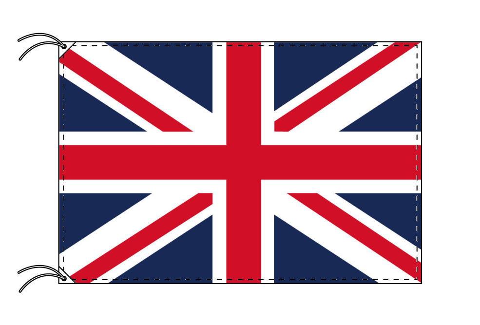 【レンタル】 3泊4日レンタル旗 イギリス国旗・付属品セット[90×135cm国旗・3mポール・扁平玉・スタンド・高級テトロン製]安心の日本製