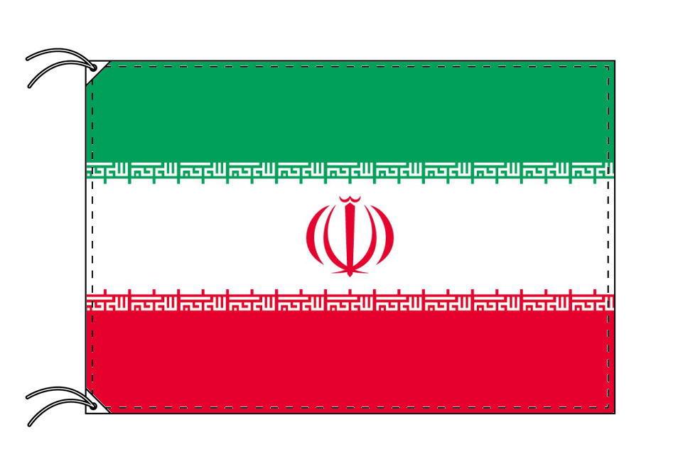 【レンタル】 3泊4日レンタル旗 イラン国旗(旗単品)[90×135cm国旗・高級テトロン製]安心の日本製