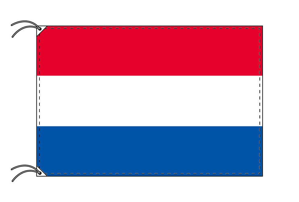 【レンタル】 3泊4日レンタル旗 オランダ国旗(旗単品)[90×135cm国旗・高級テトロン製]安心の日本製