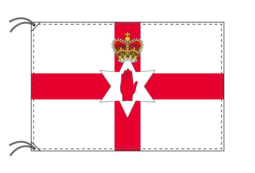 【レンタル】 3泊4日レンタル旗 北アイルランド国旗[90×135cm国旗・高級テトロン製]安心の日本製