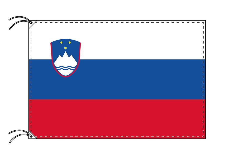 【レンタル】 3泊4日レンタル旗 スロベニア国旗(旗単品)[90×135cm国旗・高級テトロン製]安心の日本製