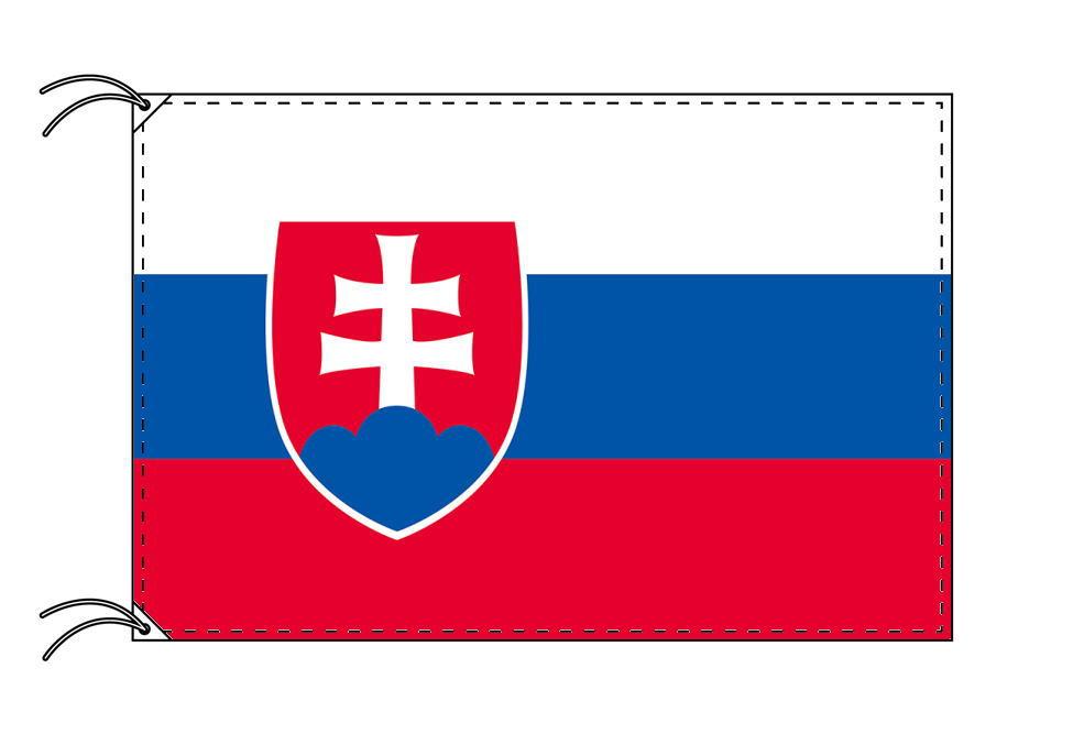 【レンタル】 3泊4日レンタル旗 スロバキア国旗(旗単品)[90×135cm国旗・高級テトロン製]安心の日本製