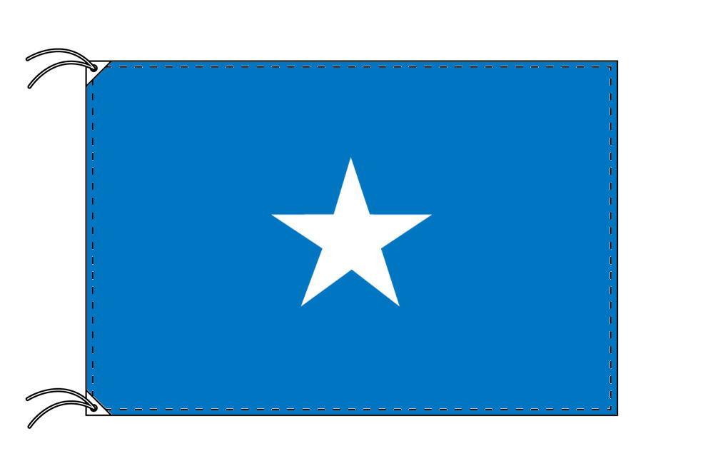 【レンタル】 3泊4日レンタル旗 ソマリア国旗・付属品セット[90×135cm国旗・3mポール・扁平玉・スタンド・高級テトロン製]安心の日本製