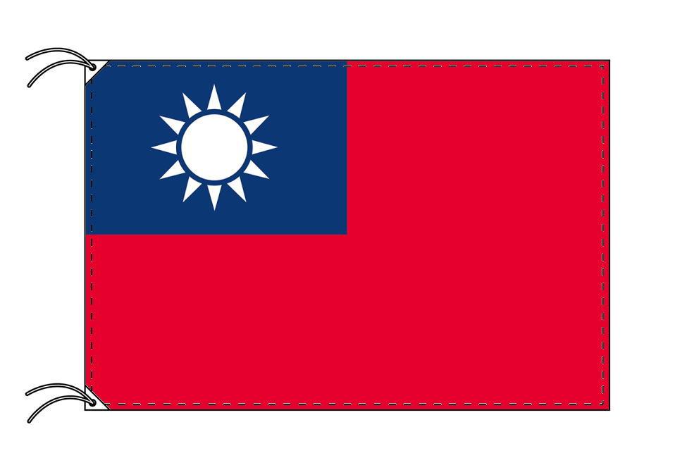 【レンタル】 3泊4日レンタル旗 台湾[中華民国]国旗(旗単品)[90×135cm国旗・高級テトロン製]安心の日本製