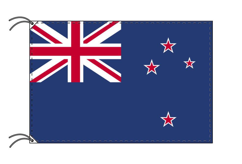 【レンタル】 3泊4日レンタル旗 ニュージーランド国旗・付属品セット[90×135cm国旗・3mポール・扁平玉・スタンド・高級テトロン製]安心の日本製
