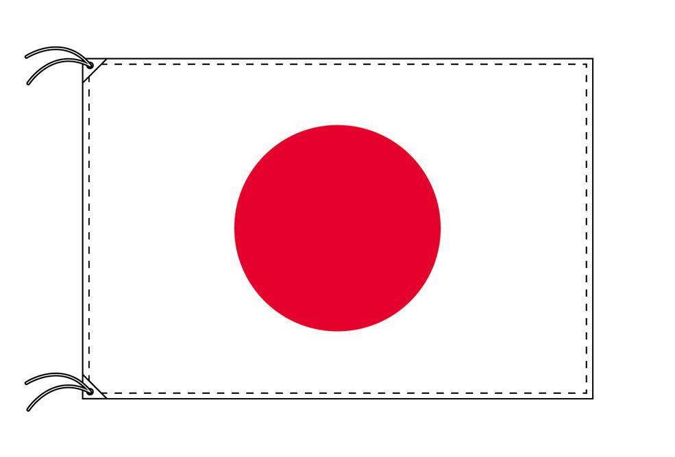 【レンタル】 3泊4日レンタル旗 日本国旗・付属品セット[90×135cm国旗・3mポール・扁平玉・スタンド・高級テトロン製]安心の日本製